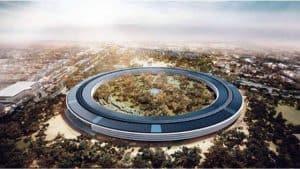 Sede de Apple Inc en Cupertino